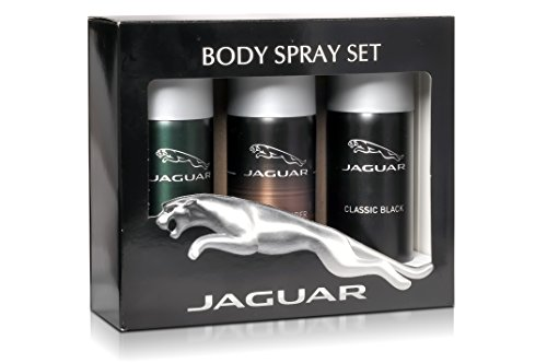 JAGUAR Pack Of 3 Deodotant (Classic BlackDeo150ml+Classic AmberDeo150ml+For MenDeo150ml)