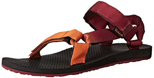 Teva Original Univ. Gradient M's, Herren Sport- & Outdoor Sandalen, Rot (833 fire.brick/har.brown), 42 EU (8 Herren UK)
