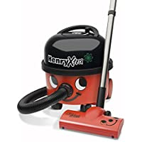 NUMATIC HVX.200-11 Henry Xtra Vacuum Cleaner, 580 Watt, Red/Black