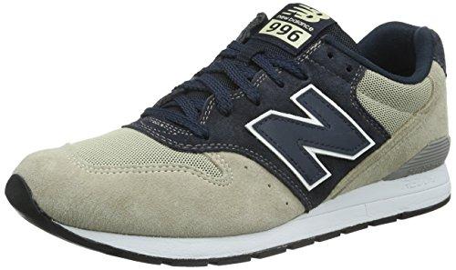 New Balance Herren MRL996V1 Sneakers, (Beige/Blue), 45 EU