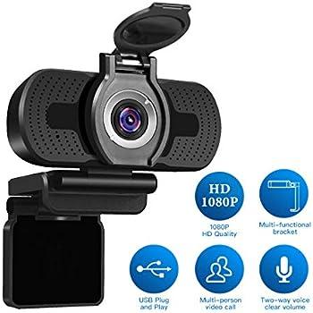 eMeet Webcam 1080P - C980 Pro Full HD Webcam mit 2: Amazon