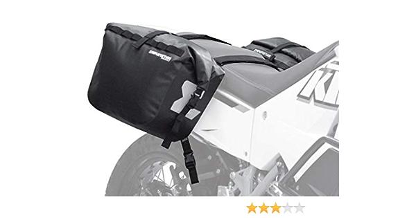 Enduristan Monsoon Panniers 3 Satteltaschen Gepäcksystem Softbags 100 Wasserdicht Volumen 2 X 30 Liter Auto