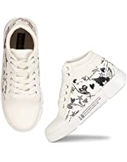 FASHIMO Taxture Sneakers for Women and Girls