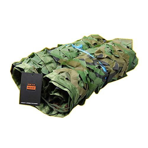 Tarnbezug 80% Sunblock Shade-Stoffnetz - Armee-Grün UV-beständiges Stoffnetz für Gewächshaus-Schattenstoff, mit Kleberand und Gromments,10X15M - Armee Grün Abgeschnitten