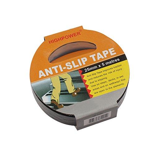 5m Anti-Slip Tape Black Anti Slip Tape Non Slip Anti Slip Tape 25Mm