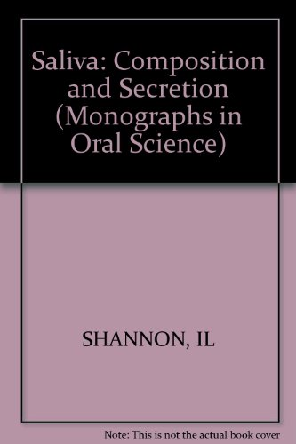 Monographs in Oral Science / Saliva: Composition and Secretion