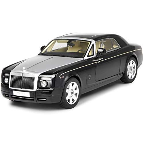 GAOQUN-TOY 1:18 Rolls-Royce Phantom Coupé-Simulationsauto-Modell Hardtop-Legierungsauto (Farbe : SCHWARZ, größe : 31cm*11cm*9cm) - Phantom Modell Rolls-royce