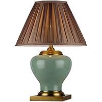 505 HZB Lámpara de cerámica, Sala de Estar clásica Americana, lámpara de cabecera,