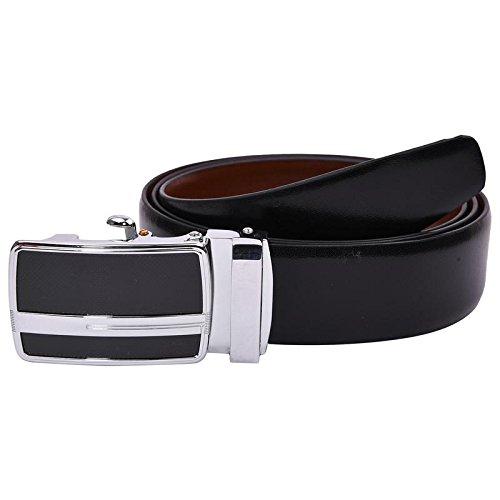 B&W Premium Reversible Belt for Men's- Leather- 35MM- Auto Lock Buckle(BW780)