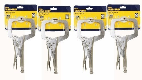 IRWIN Vise Grip 11R 11-Inch Regular Tip Locking C-Clamp, by Irwin Tools
