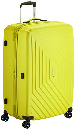 American Tourister Air force 1 Spinner 76/28  Serrure Tsa Expendable Maleta, 111 Litros, Amarillo (Sunny yellow)