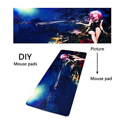 Custom4U Mousepad mit Ihrem eigenem Bild oder Foto - Upload gleich Hier möglich - personalisiert - individuell - persönlich - einzigartig Gaming Mauspad -