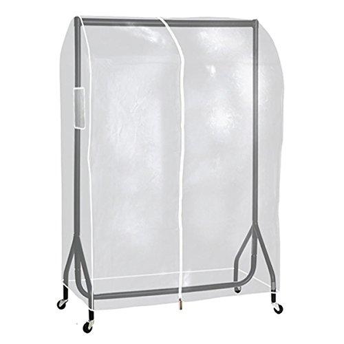 Transparente Abdeckhaube Staubschutz für Kleiderständer, 120 cm Hangerworld