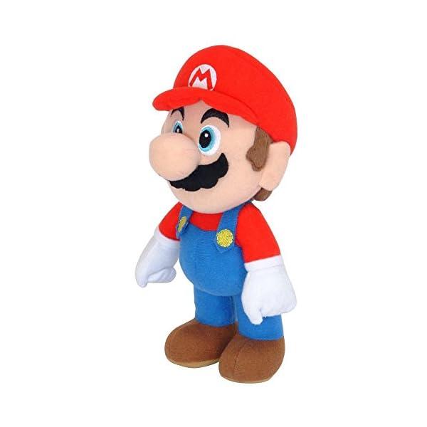 SUPER MARIO gmsm6p01marionew Bros–Producto Oficial de Nintendo 24cm Mario Plush 1