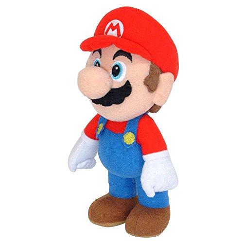 Unbekannt Super Mario gmsm6p01marionew Bros-Offiziell lizenziert Nintendo 24cm Mario Plüsch