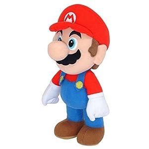 Super Mario gmsm6p01marionew Bros-Producto Oficial de Nintendo 24cm Mario Plush