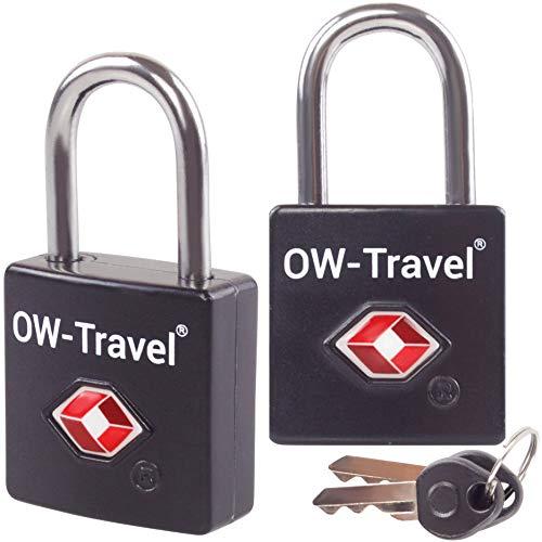 ✅ Candado con Llave TSA Antirobo Maleta - Alta Seguridad. Cerradura