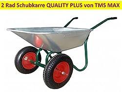 2 Rad Schubkarre Transportwagen Gerätewagen 170 kg Ladegewicht Karre Gartenkarre