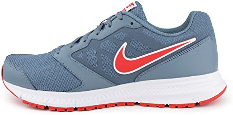 Nike Downshifter 6 MSL - Zapatillas de Running para Hombre, Color Gris/Rojo/Blanco