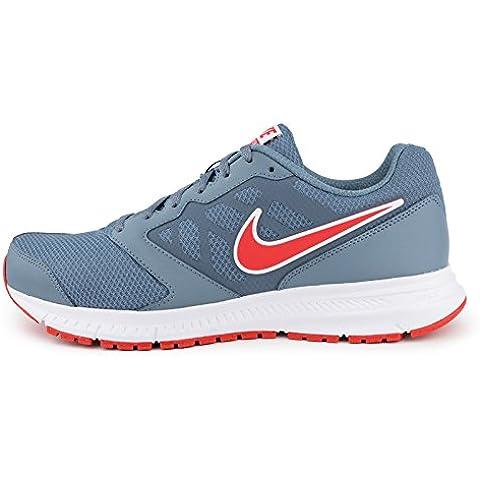 Nike Downshifter 6 MSL - Zapatillas de running para hombre, color gris / rojo / blanco