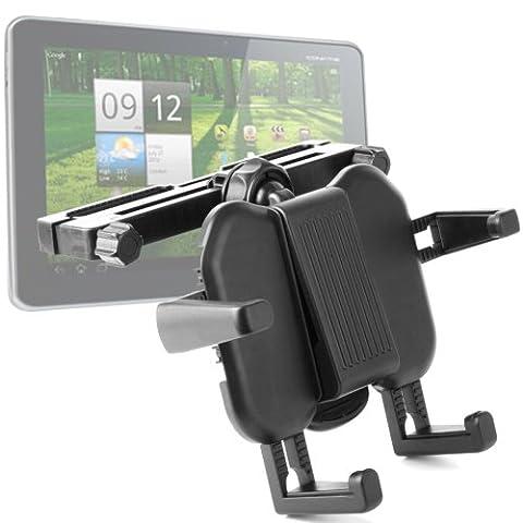 "DURAGADGET Support appui tête voiture ajustable pour Acer Iconia Tab A700 - Tablette 10"" (25,4 cm) - Nvidia Tegra 3 Quadcore - 32 Go - RAM 1 Mo - Android 4.0 Ice Cream Sandwich - Garantie 5 ans"