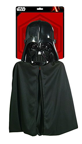 Star wars 1198 - Kinderkostümset Darth Vader, Maske und Umhang, (Vader Wars Kostüme Darth Star)