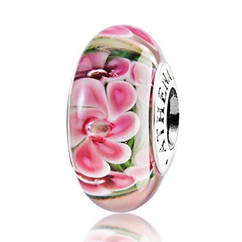 athenaie-vritable-verre-de-Murano-Argent-925-Minuit-Fleur-Perle-Charm-pour-bracelets-de-type-Pandora
