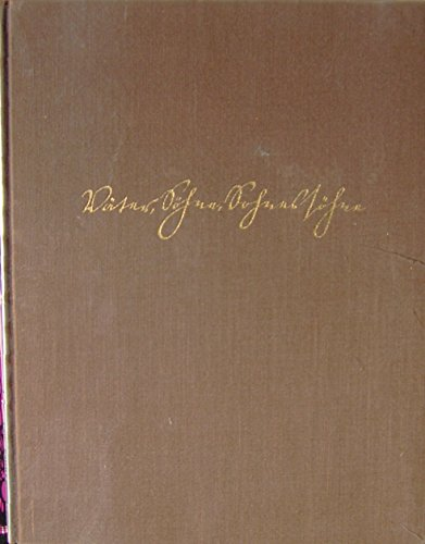 Väter, Söhne, Sohnessöhne. Ein Bilderbuch der letzten 125 Jahre 1828-1953. Zum 125. Geburtstag der Firma Heinrich Franck Söhne.