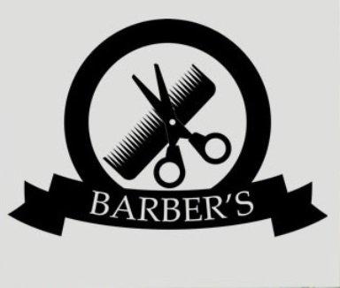 barbiere-parrucchiere-vinile-decalcomania-da-parete-black