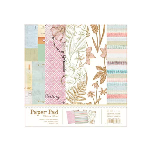 Paper Pad for Scrapbooking DIY Projects/Photo Album/Card Making Crafts (A) ()