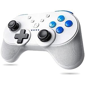 TopACE LREGO Wireless NFC-Funktionalität Controller Kompatibel für Nintendo Switch, Amiibo unterstützt Doppelmotor Vibration HD Rumble Turbo-Geschwindigkeitsänderung Bluetooth Gamepad Controller