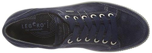 Legero Tanaro, Baskets Basses Femme Bleu - Blau (NIAGARA 84)