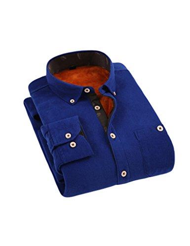 bestgift-homme-chemisir-plus-epais-laine-interieur-bleu-cliar-xxxx-large