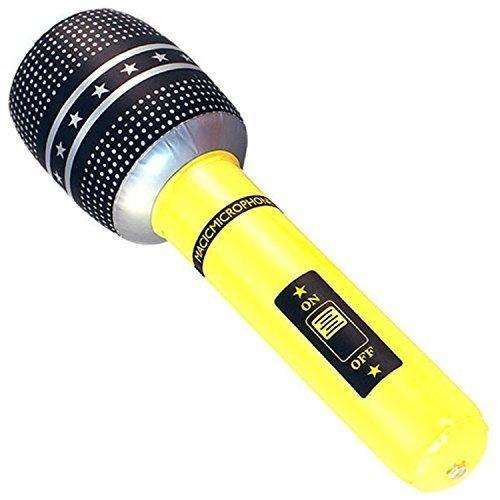 sbare Mikrofon Musik Pop Disco Kostüm Party Zubehör Requisit Spielzeug (Pop-musik Kostüme)