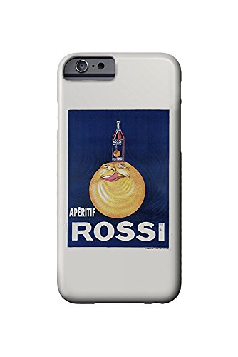 Aperitif Rossi Vintage Poster (artist: Droit) France c. 1927 (iPhone 6 Cell Phone Case, Slim Barely There)