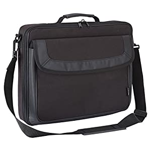 Targus Classic Clamshell Premium Protective Laptop Bag with Handles specifically designed to fit up to 15-15.6-Inch…