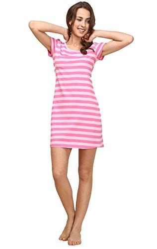 ma kurz Gestreiften Pyjama Schlafanzug kurz Nachthemd kurz aus softweich (Was Man Eisen Auf)