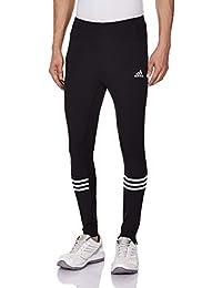 adidas RS L TGT M - Pantalón unisex, color negro / blanco, talla M