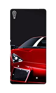 SWAG my CASE Printed Back Cover for Sony Xperia C6