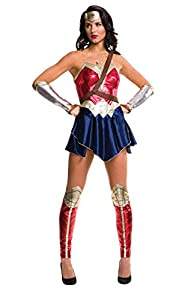 DC Comics - Disfraz de Wonder Woman para mujer, Talla L adulto (Rubies Spain 820953-L)