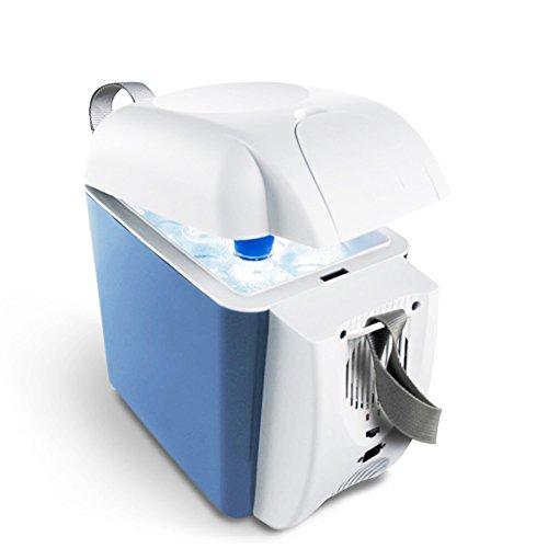 SL&BX Nevera portátil,Refrigeración compacto mini-nevera coche nevera insulina leche refrigerada caja de calefacción-Azul 18x32x30cm(7x13x12inch)