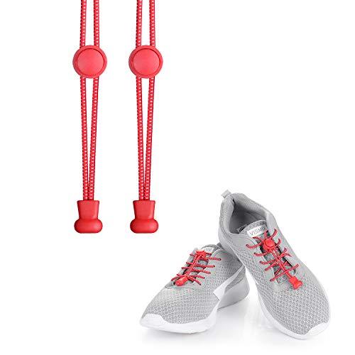 KATELUO cordones zapatillas,Cordones elásticos sin nudos para zapatillas,para Maratón y Triatlón...