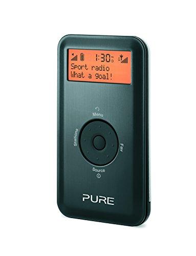 Pure Move 2500 Tragbares DAB Kompaktradio Player (DAB/DAB+/UKW mit RDS, 20 Speicherplätze) schwarz