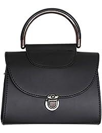Tomtopp Women Handle Crossbody Handbag PU Leather Casual Shoulder Satchel Sling Bag