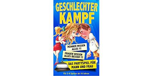 Geschlechterkampf - Das Partyspiel für Mann und Frau !