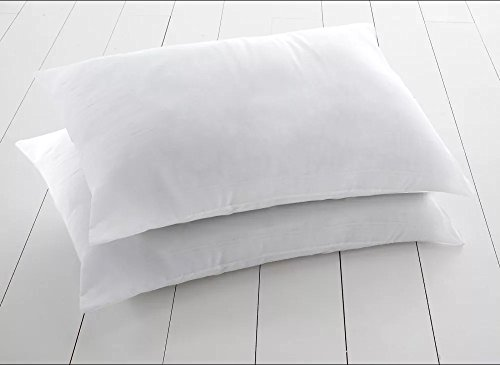 Luxury Bounce Back Hollow fibre Pillows Extra Filled Pair Pack Luxury Pillows 2 pillows by Highliving ®
