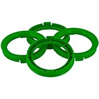 Set mozzo ruota TPI–Anelli 76.1- > 59.1mm–Sea Foam Verde - Quattro Hub Centric Anelli