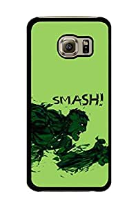 Caseque Hulk Smash! Back Shell Case Cover for Samsung Galaxy S6 Edge