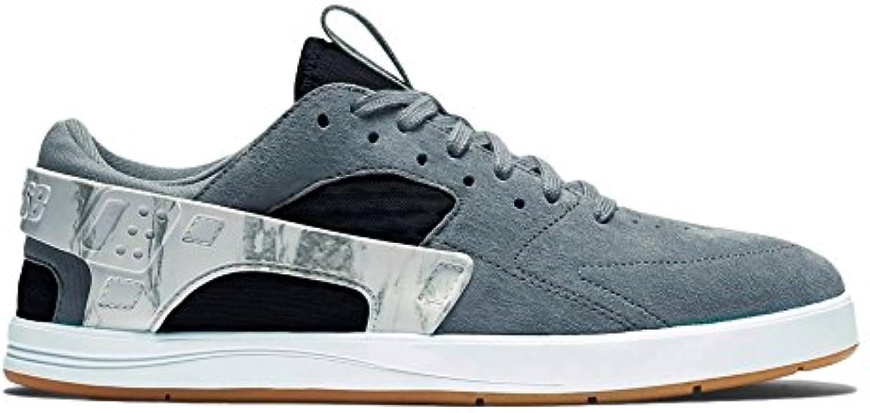 Nike SB Eric Koston Huarache Schuhe  Grau/Schwarz/Weiß/gum