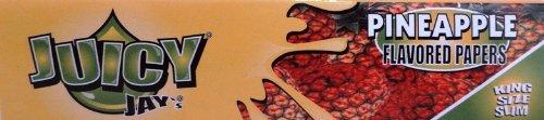 Juicy Jay - Cartine aromatizzate lunghe, 3 confezioni (32 cartine ciascuna), vari sapori